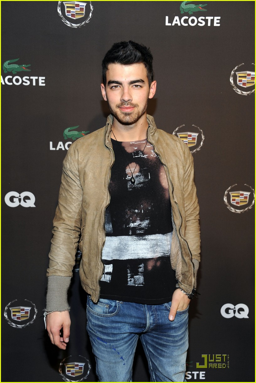joe jonas gq lacoste cadillac party 09