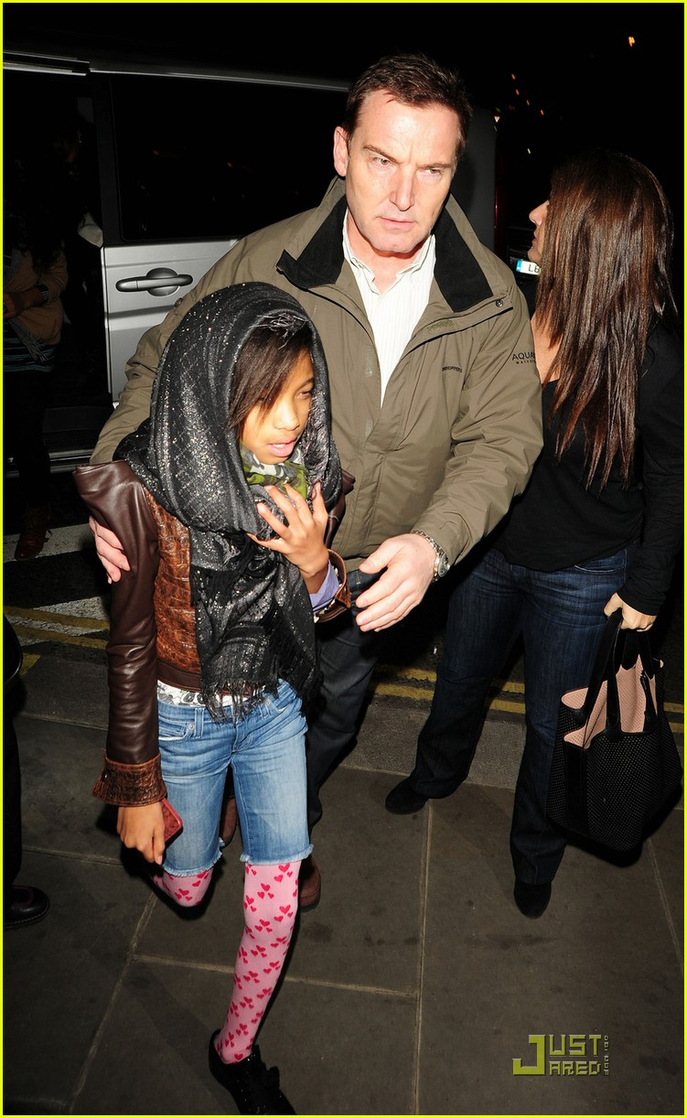 willow smith justin bieber london dinner 02
