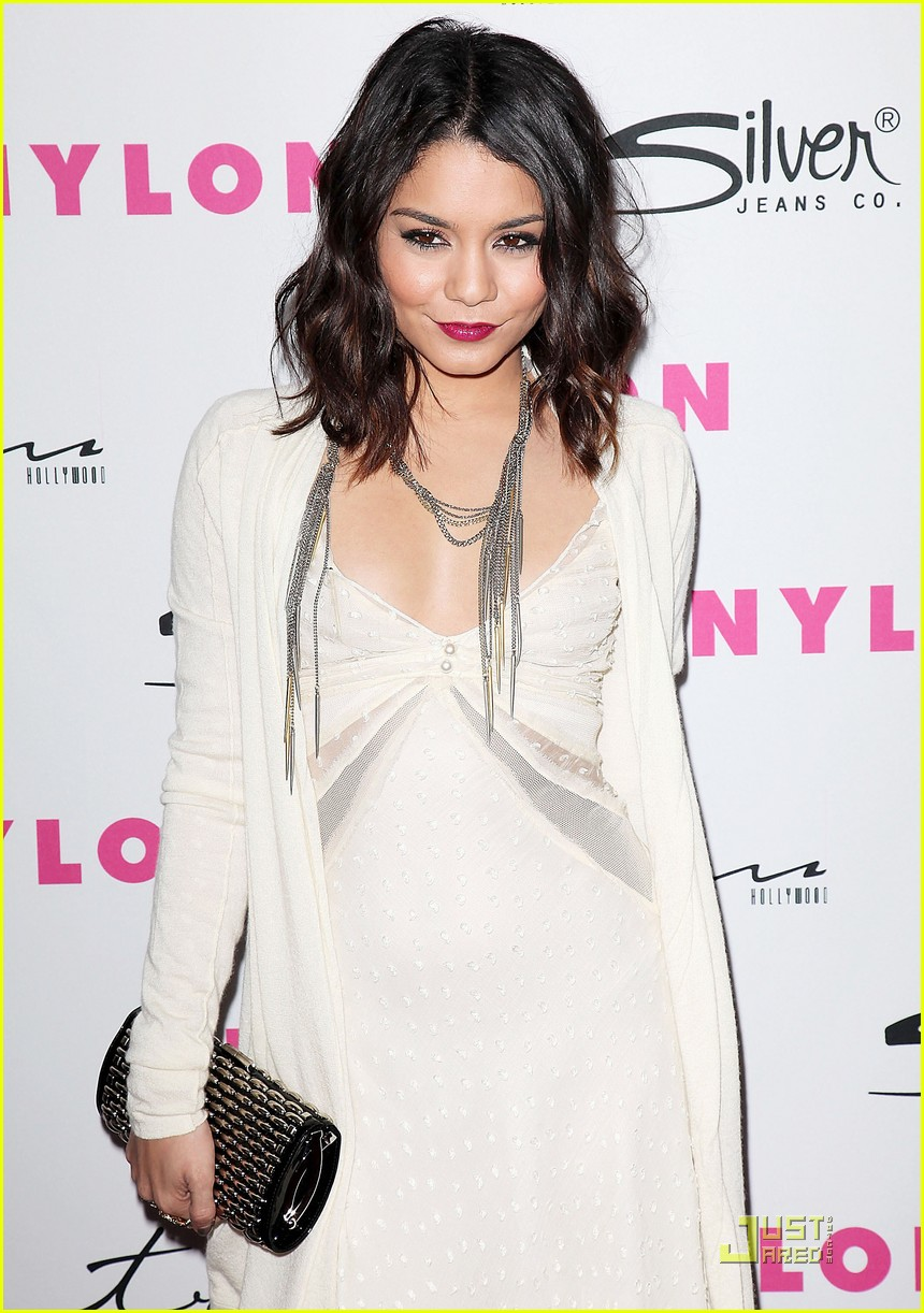 vanessa hudgens nylon magazine party 03