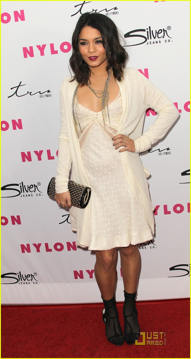 vanessa hudgens nylon magazine party 04