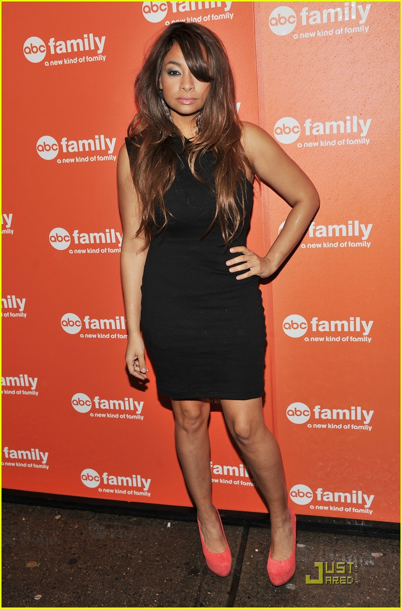 raven symone abc family upfronts 07