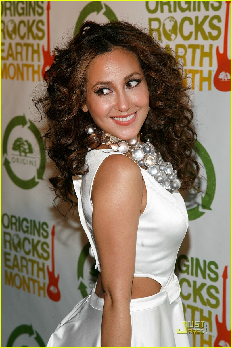 adrienne bailon guess earth month 02