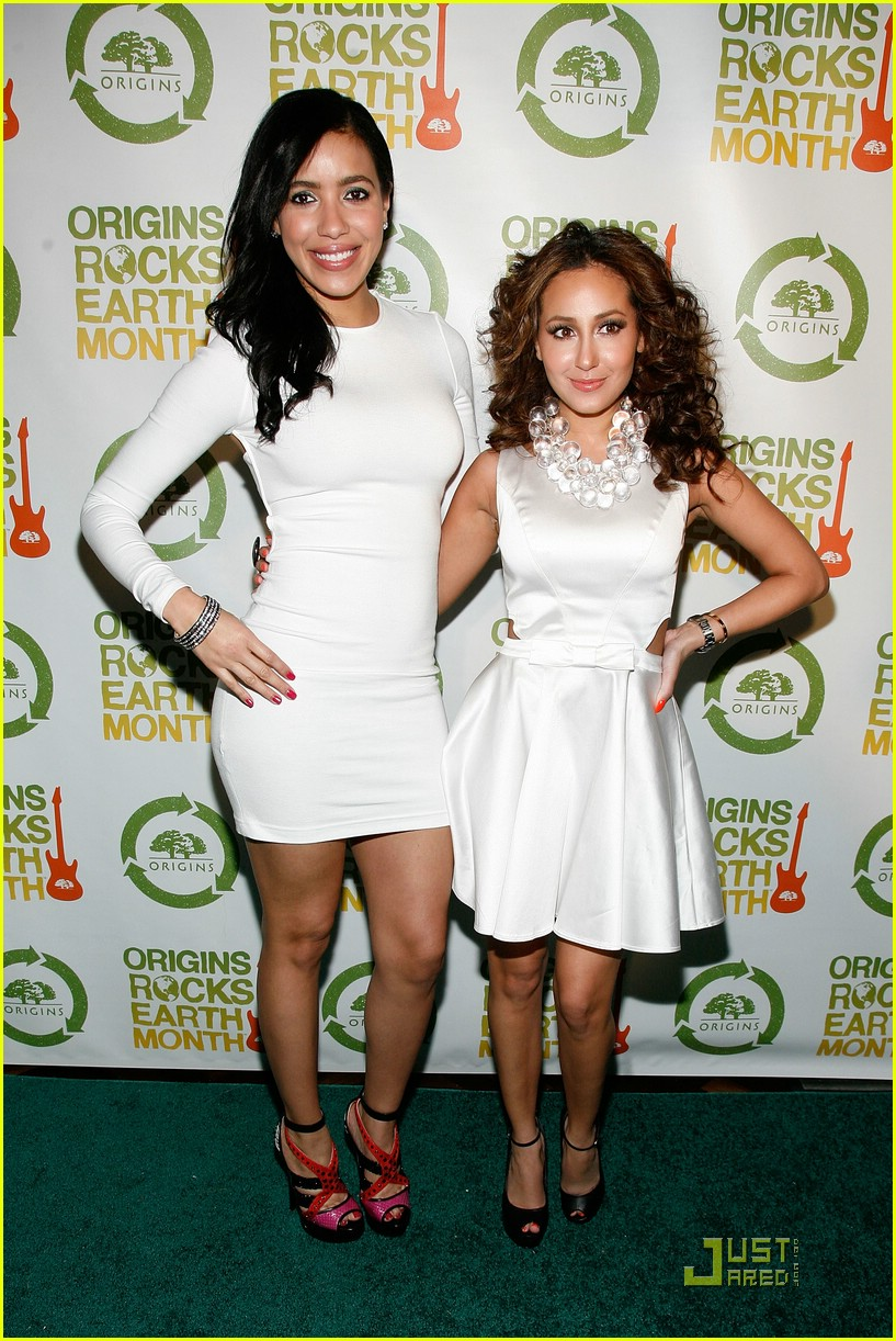 adrienne bailon guess earth month 08