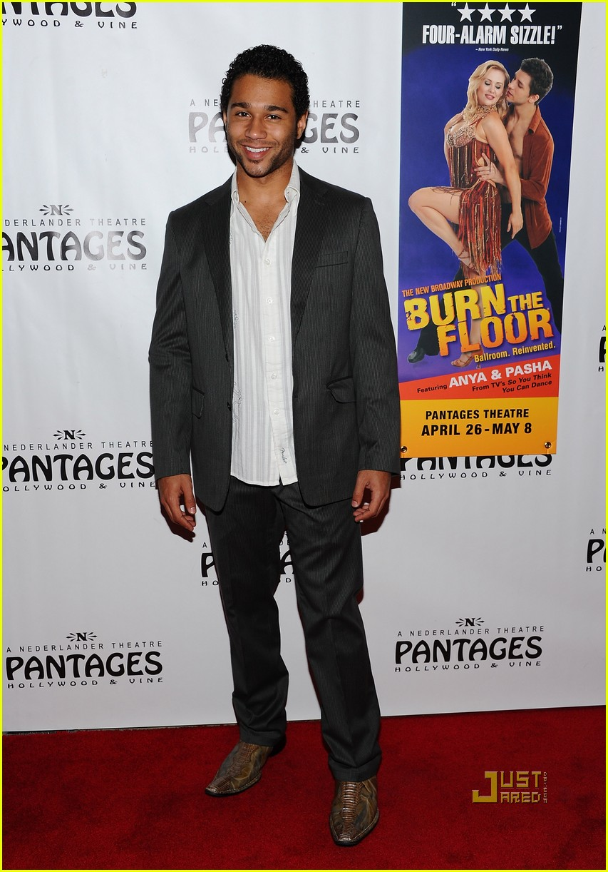 corbin bleu burn floor pantages 02
