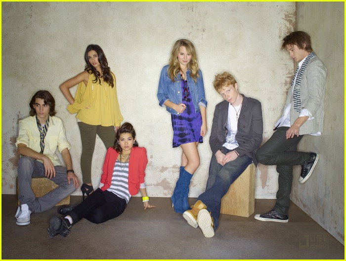 lemonade mouth cast shoot 01