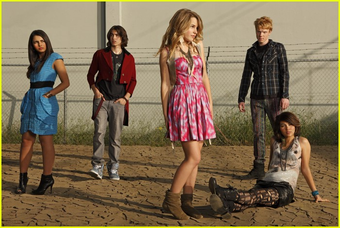 lemonade mouth cast shoot 02