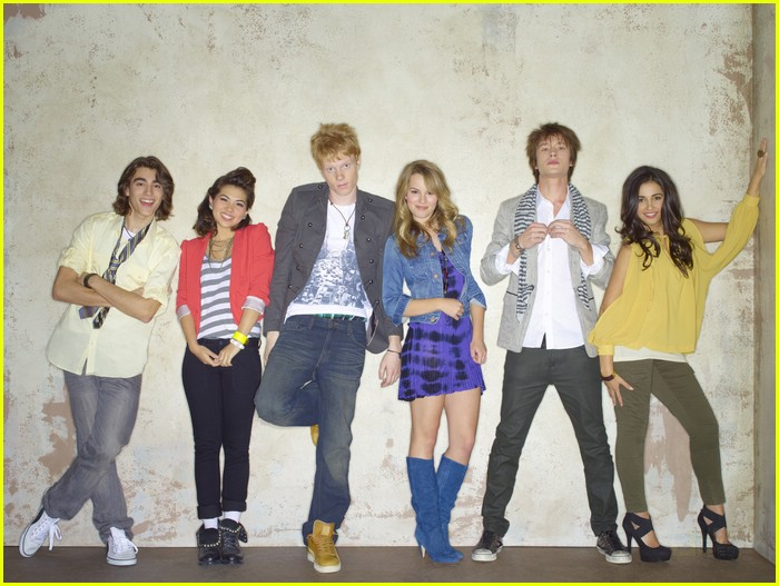 lemonade mouth cast shoot 06