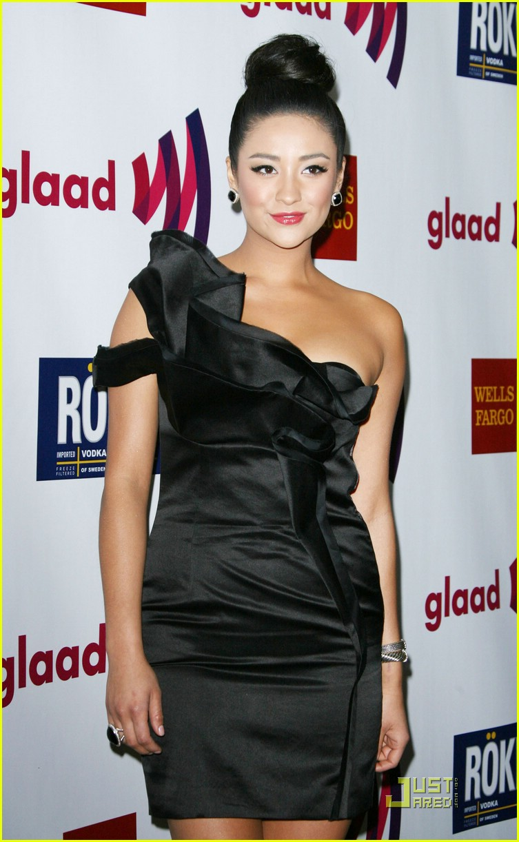 shay ashley glaad awards 09
