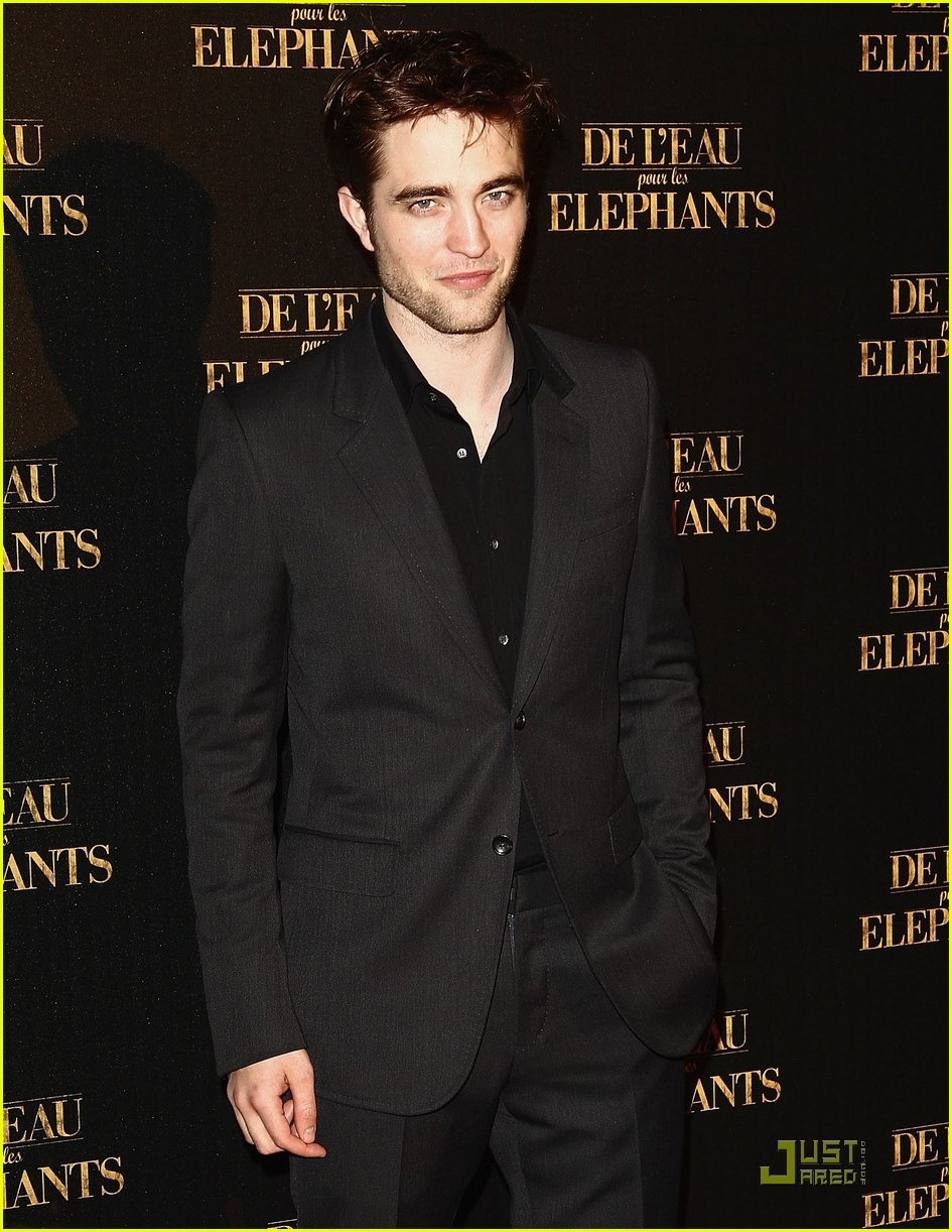 robert pattinson elephants paris 04