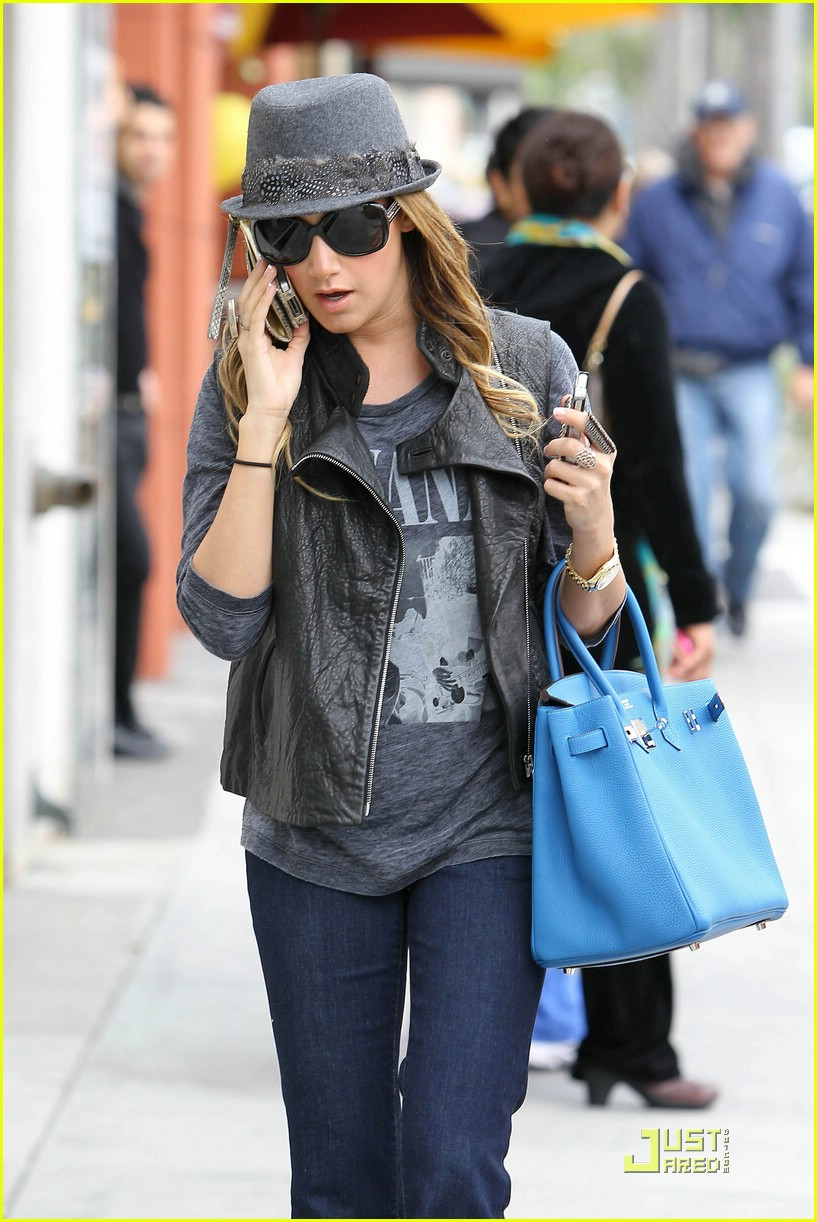 ashley tisdale hermes hills 06
