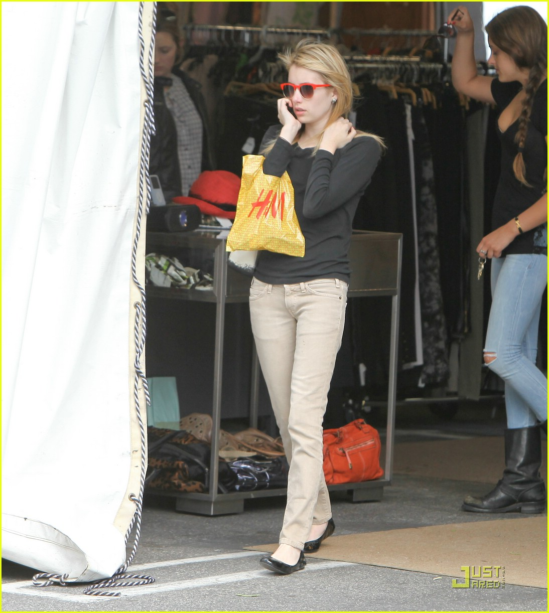 emma roberts parking lot sale 10