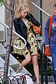 Emma-yellow emma stone yellow dress amazing spider man set 03