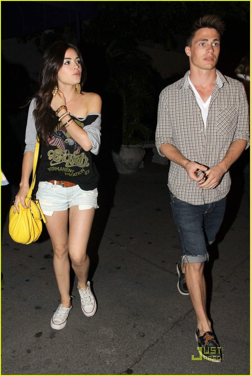 lucy hale colton haynes bowling 02