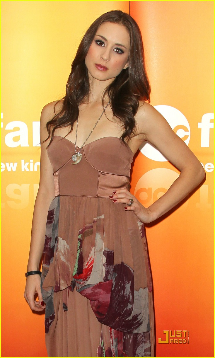 shay mitchell troian bellisario upfronts 08