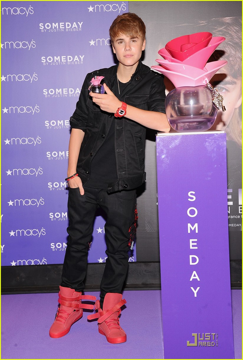 justin bieber someday launch 18