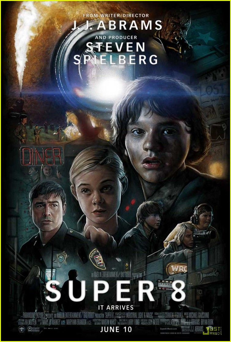 elle fanning super 8 poster 04