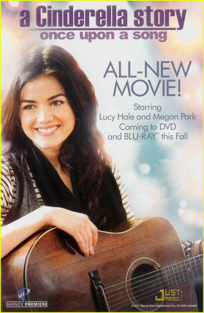 lucy hale once upon song poster 01