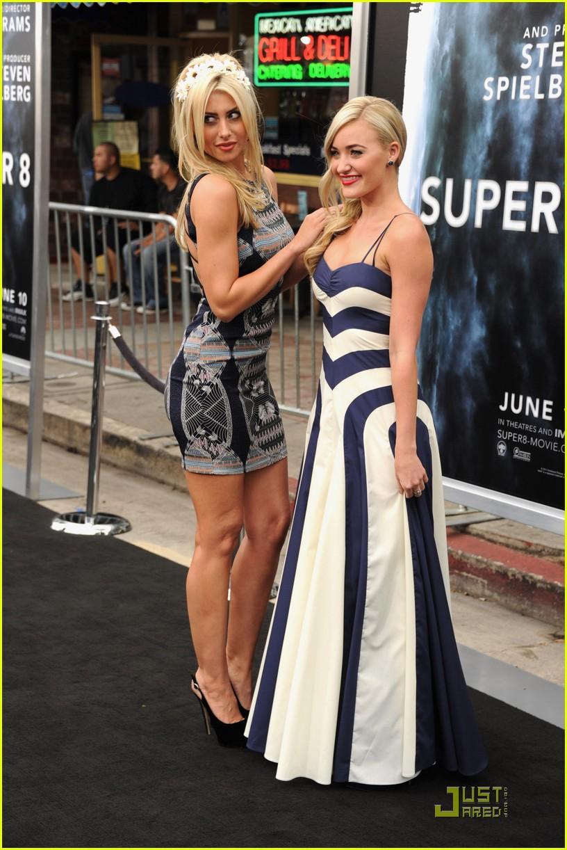 AJ Michalka: 'Super 8' Premiere with Sister Aly! | Photo 420969 ...
