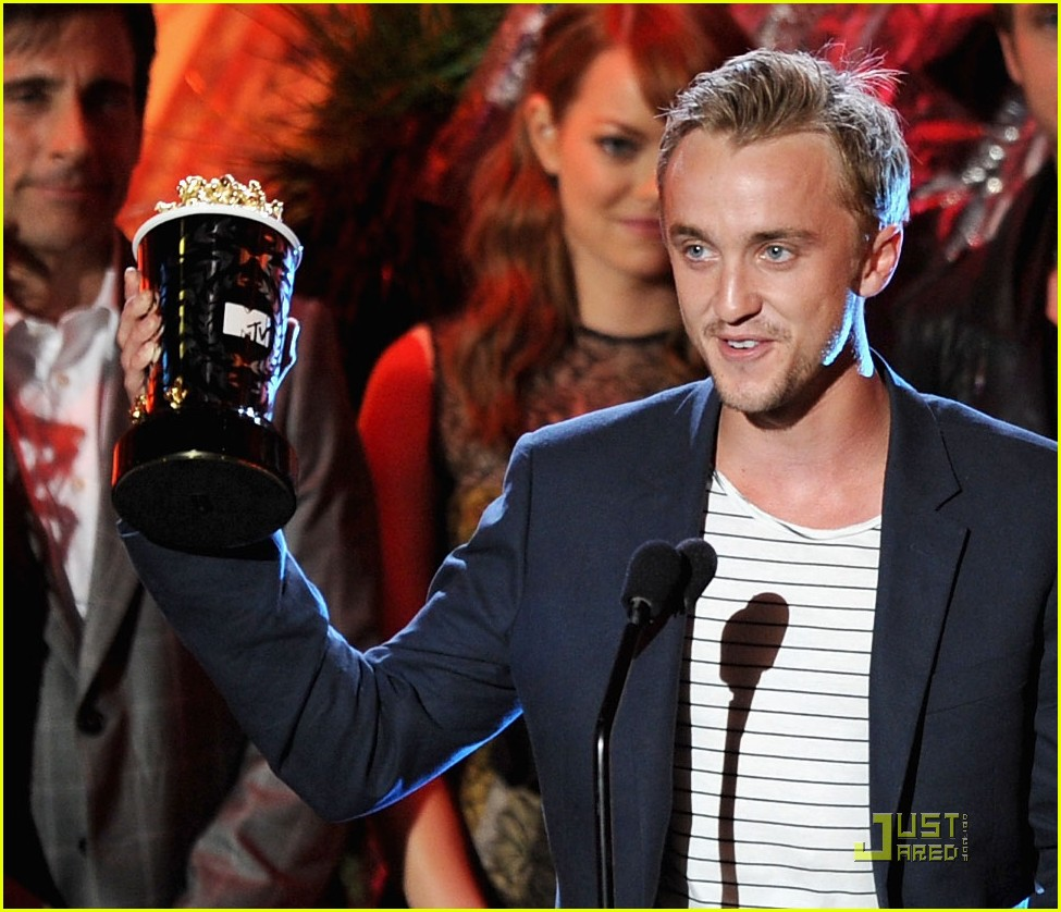 tom felton mtv best villian 01