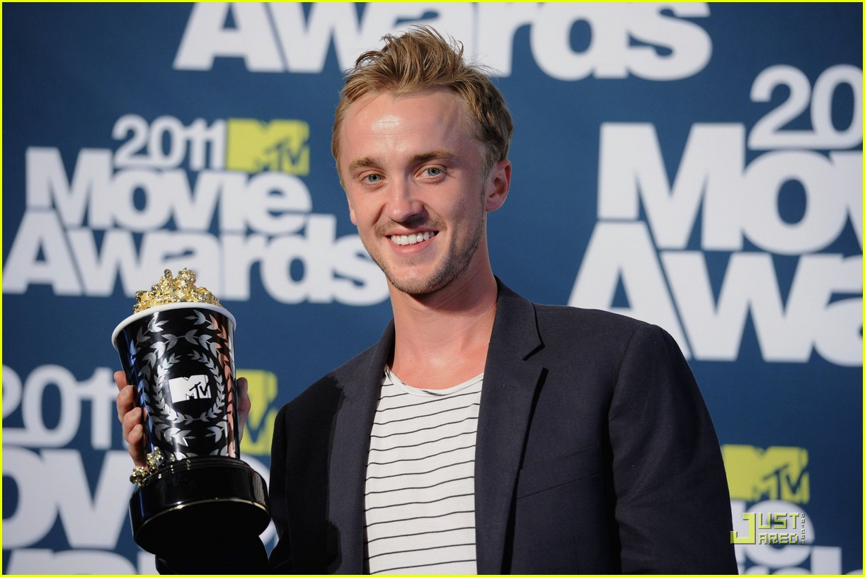 tom felton mtv best villian 02