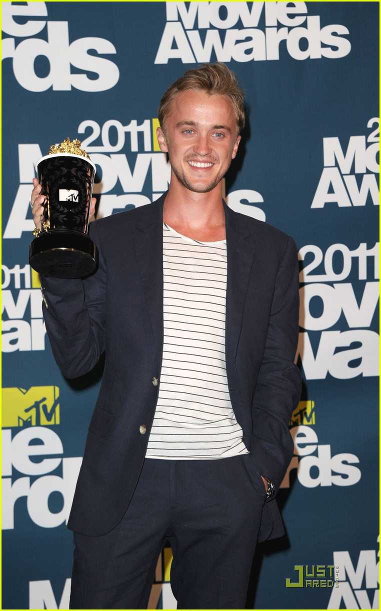 tom felton mtv best villian 06