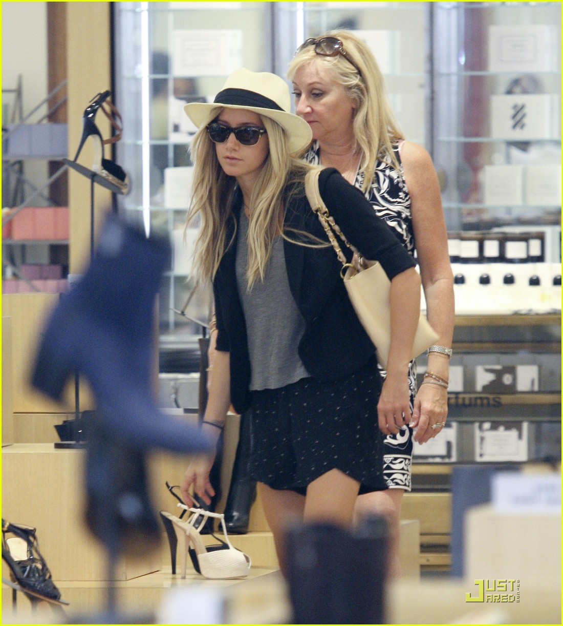 ashley tisdale barneys shoes 12