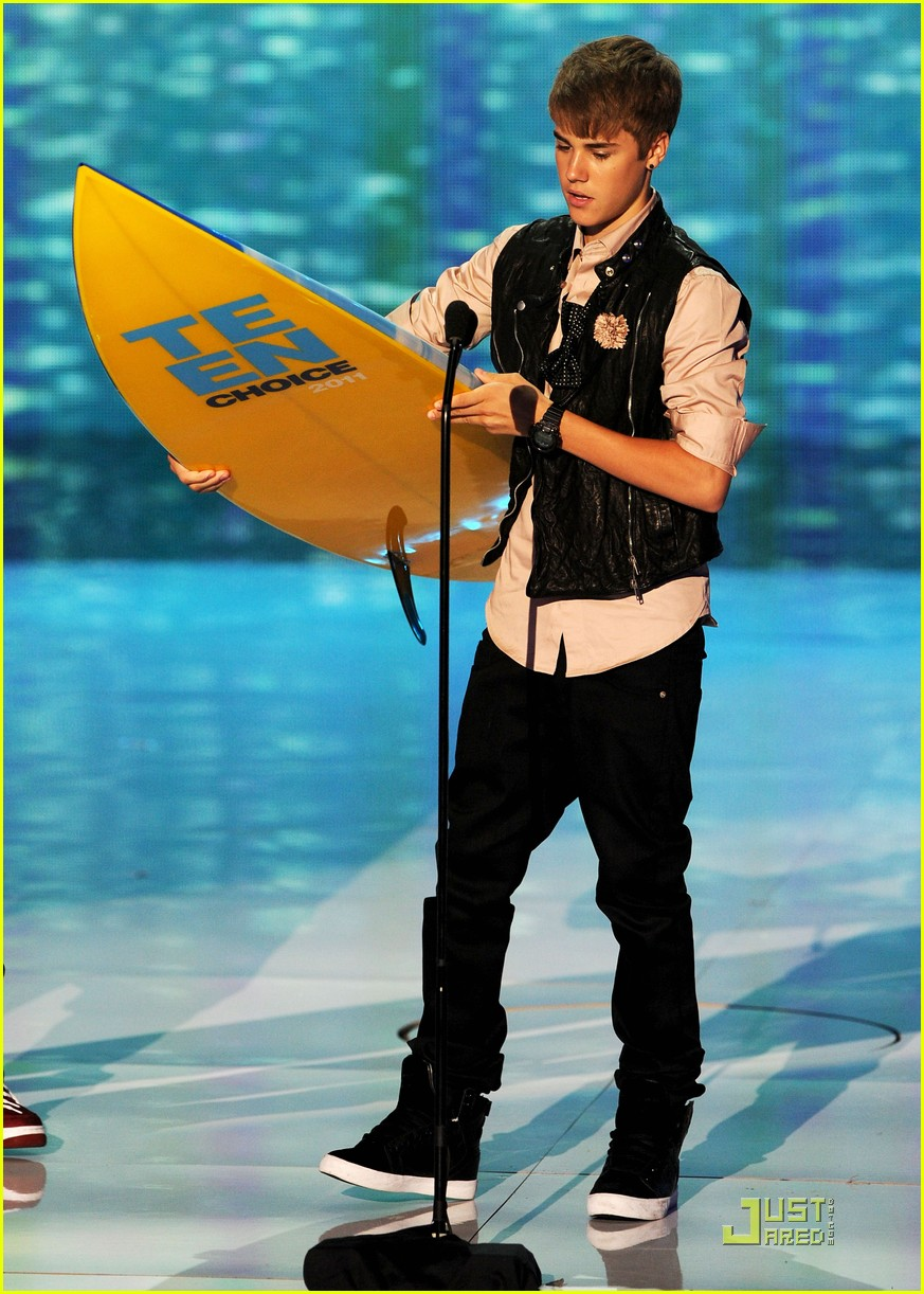 justin bieber teen choice 04