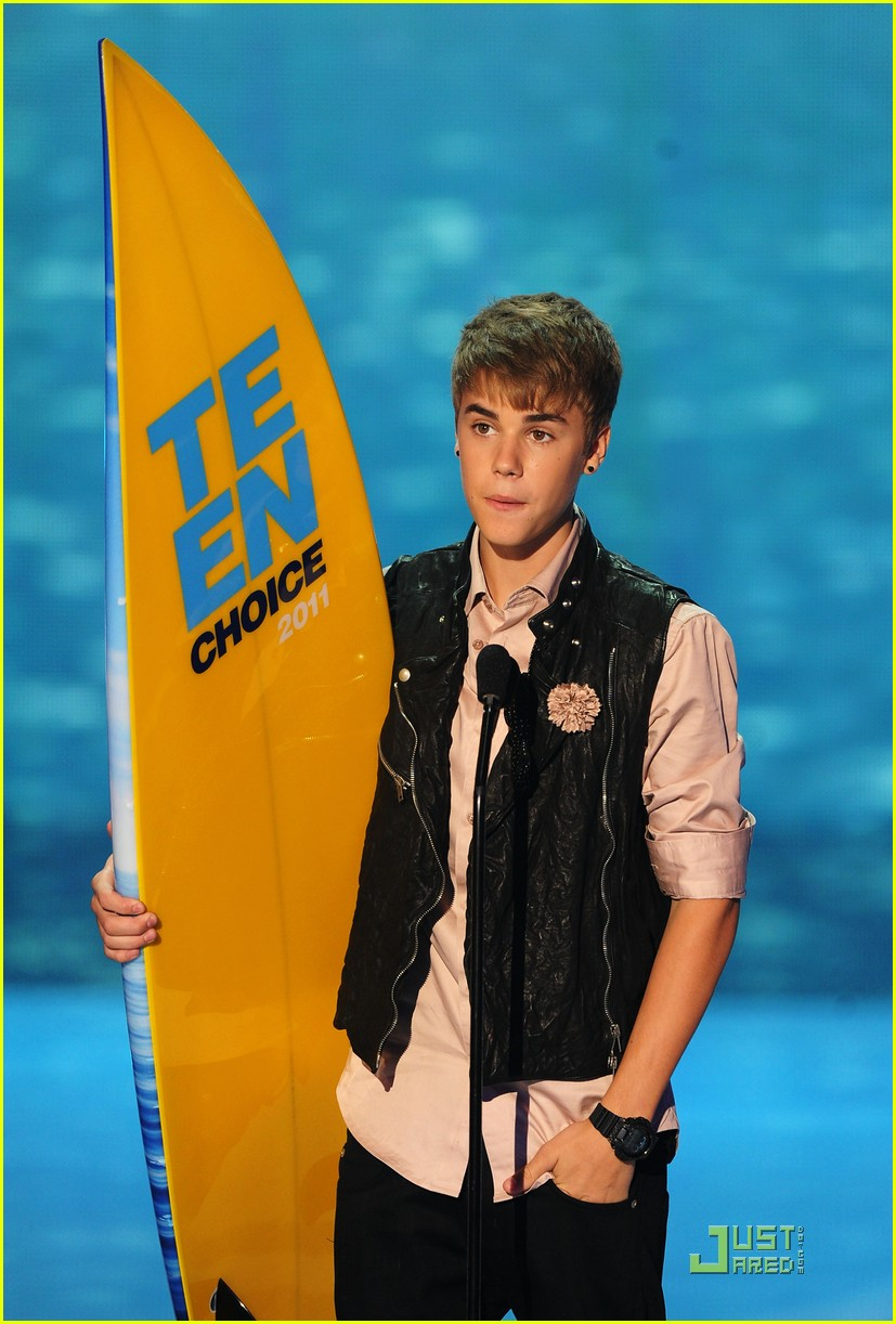 justin bieber teen choice 23