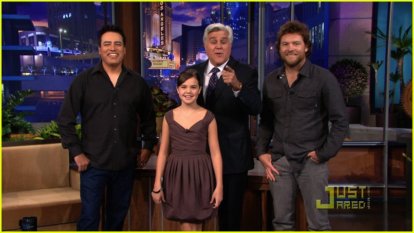 bailee madison jay leno 01