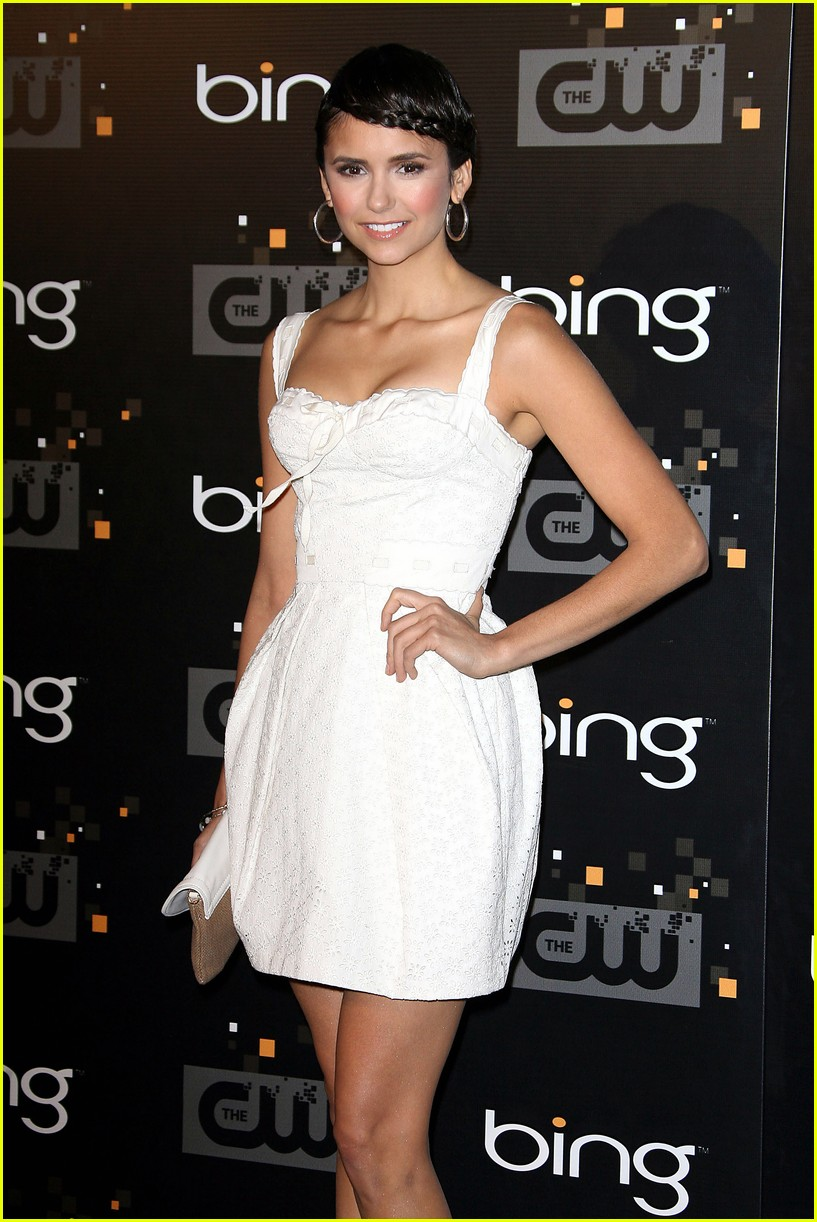 nina dobrev cw party 08