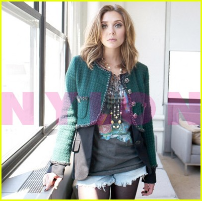 elizabeth olsen nylon october 04