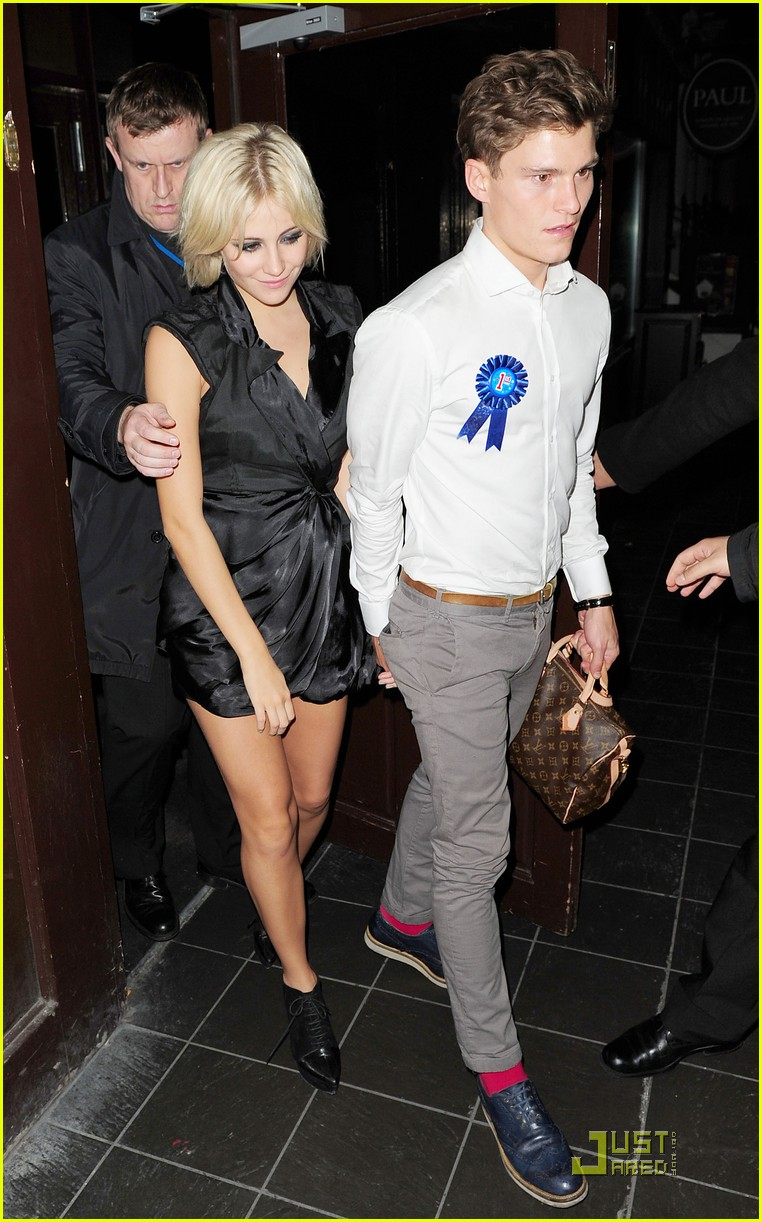 pixie lott oliver cheshire celebrate 15