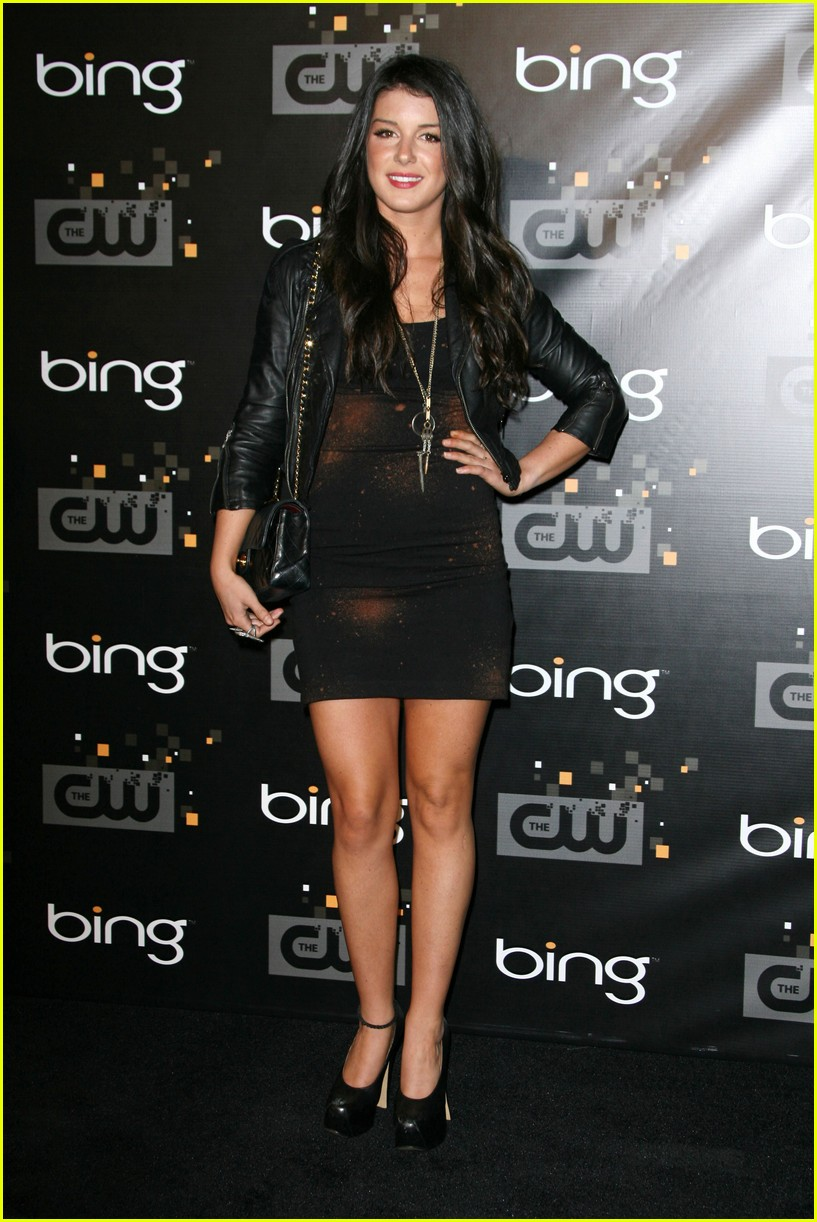 shenae grimes cw party 04