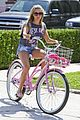 Tisdale-bike ashley tisdale bike ride 05