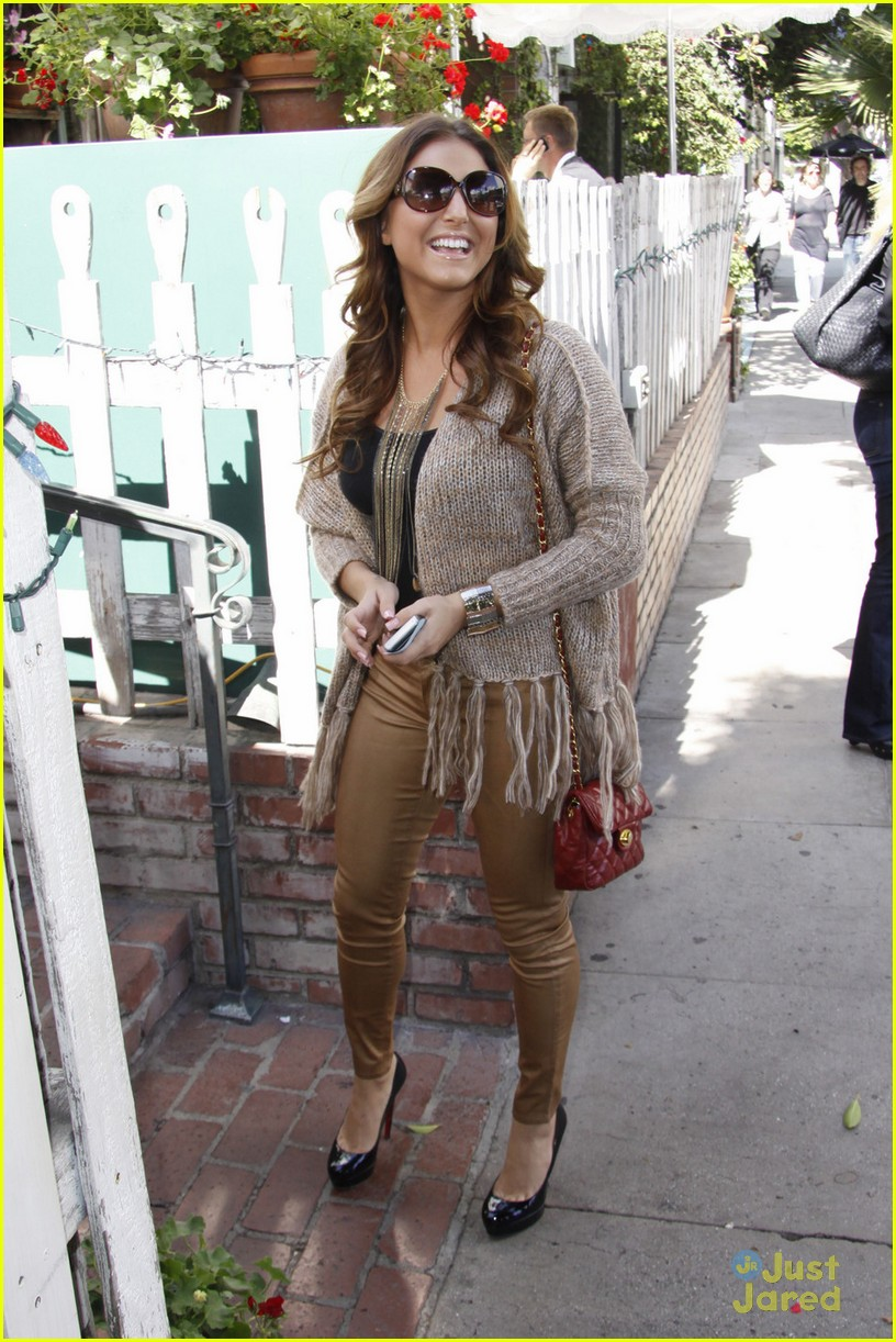 cassie scerbo ivy lunch 08