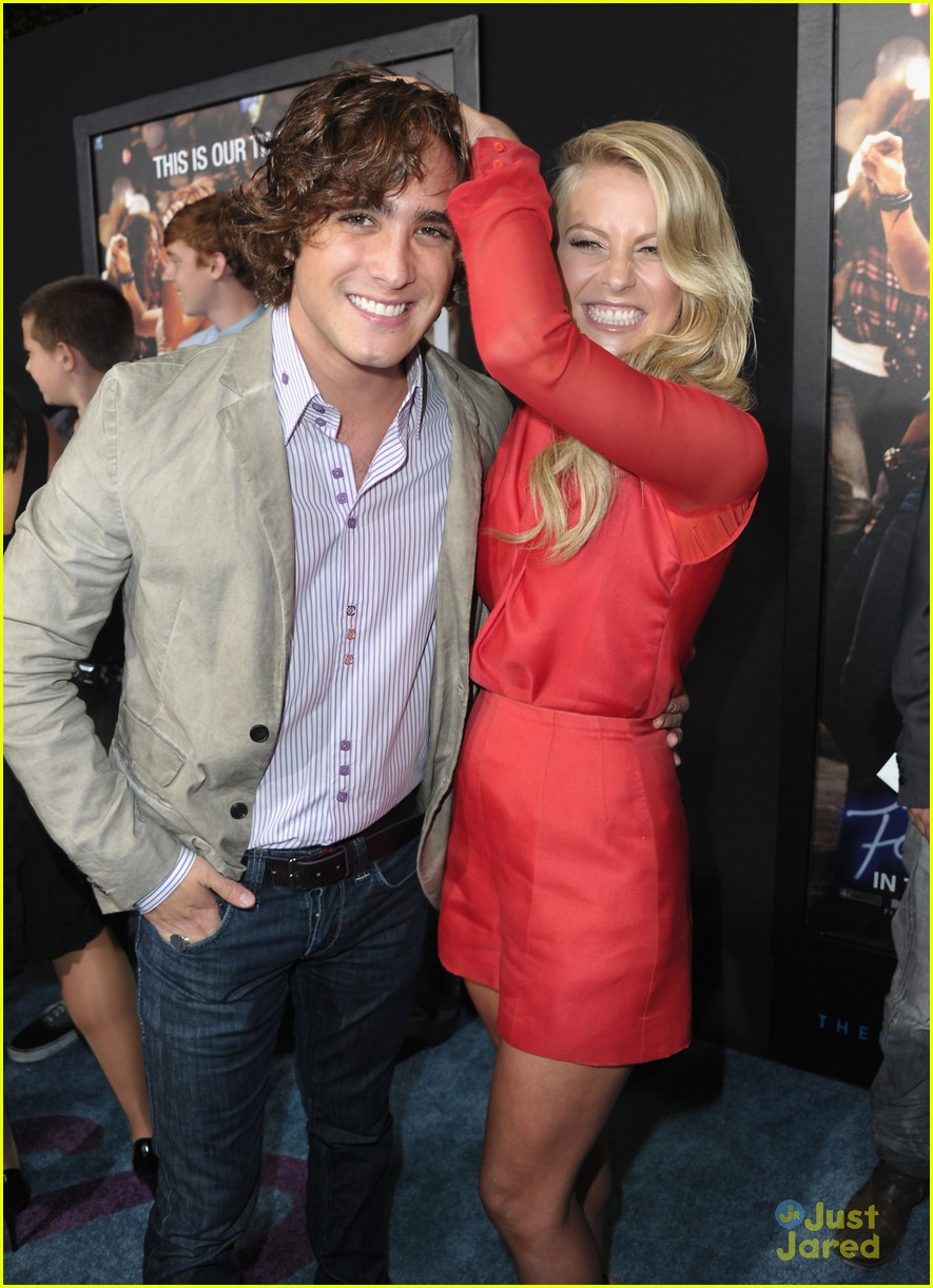 diego boneta footloose premiere 07