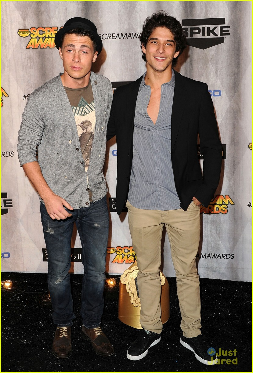 colton haynes tyler posey scream awards 2011 09