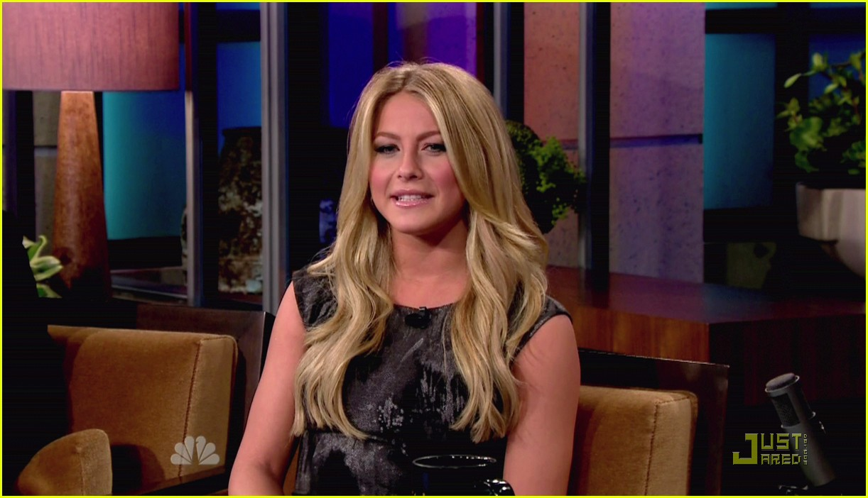 julianne hough jay leno 11
