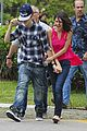 Justin-selena selena gomez justin bieber helicopter brazil 10