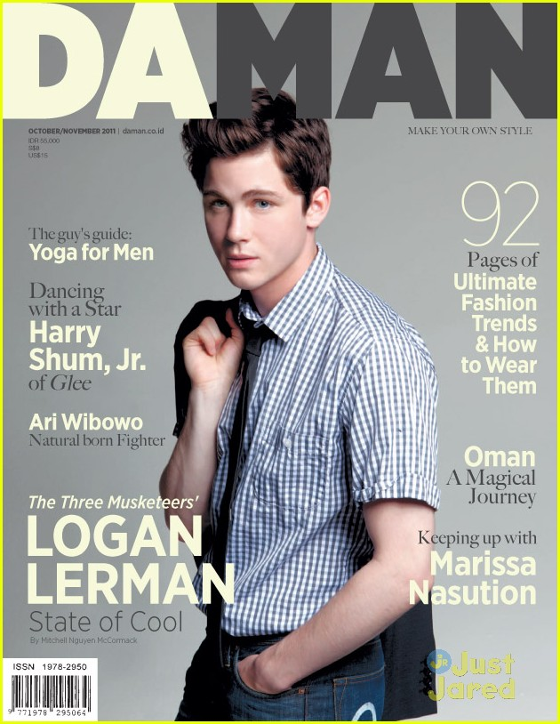 logan lerman daman cover 04