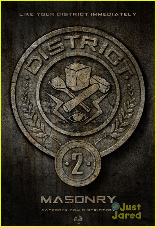 hunger games poster districts 01