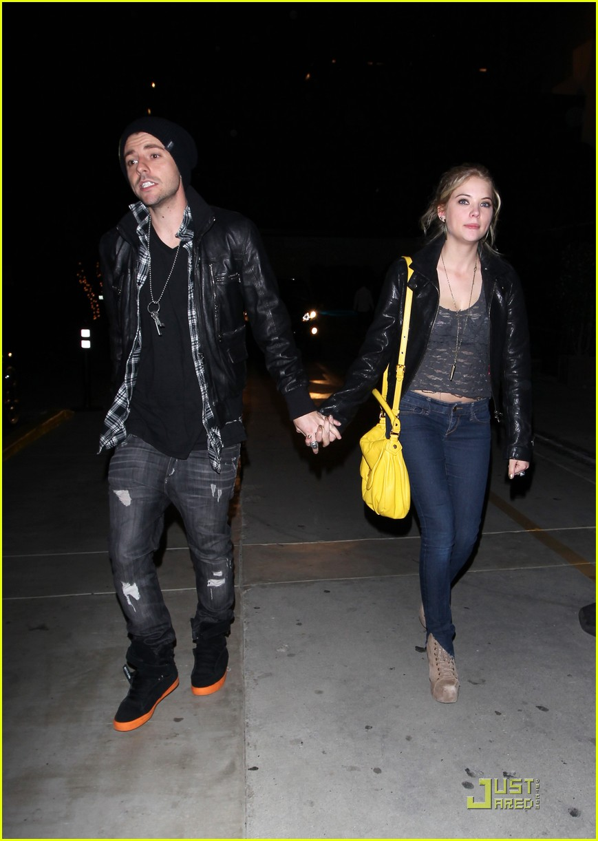 ashley benson holding hands 09