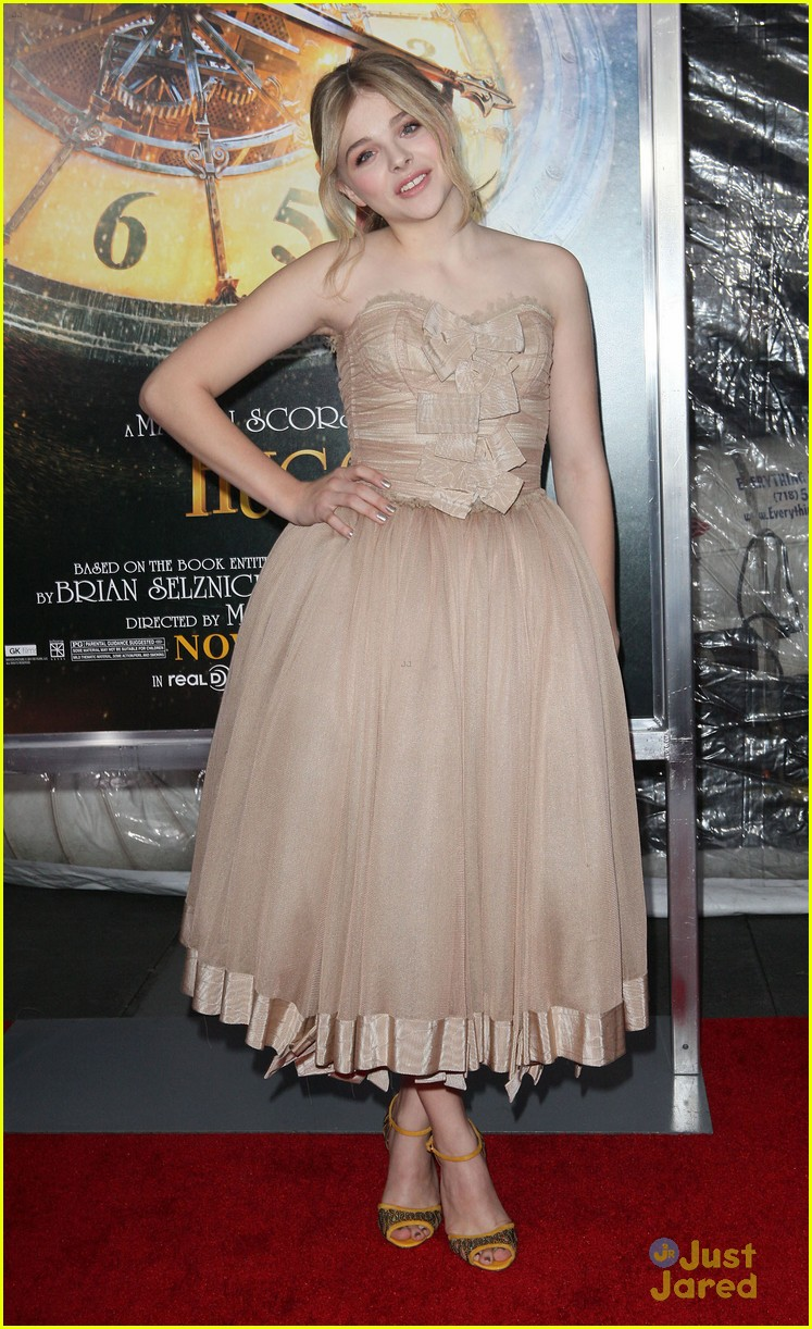 chloe moretz hugo premiere 12