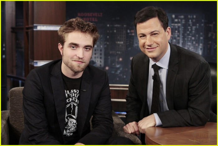 robert pattinon jimmy kimmel 02