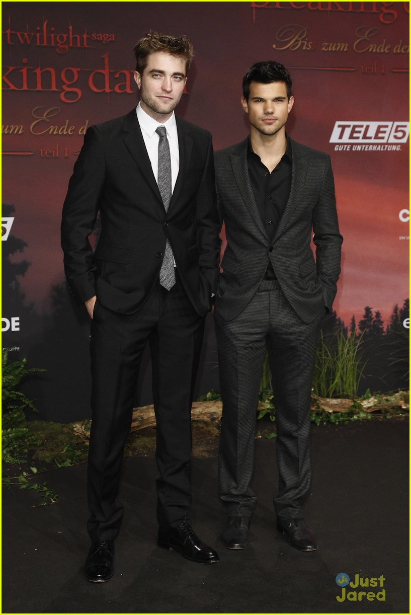 robert pattinson taylor lautner berlin 07