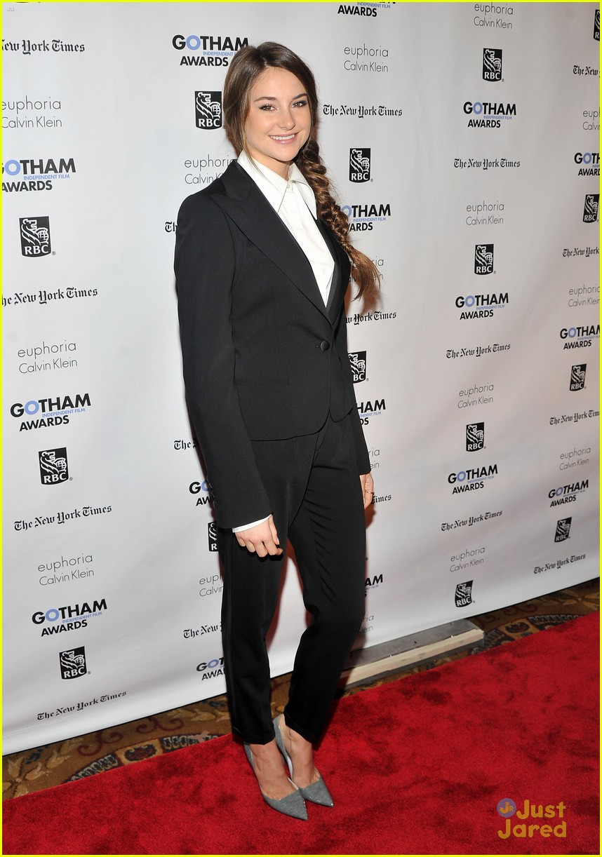 shailene woodley gotham awards 08