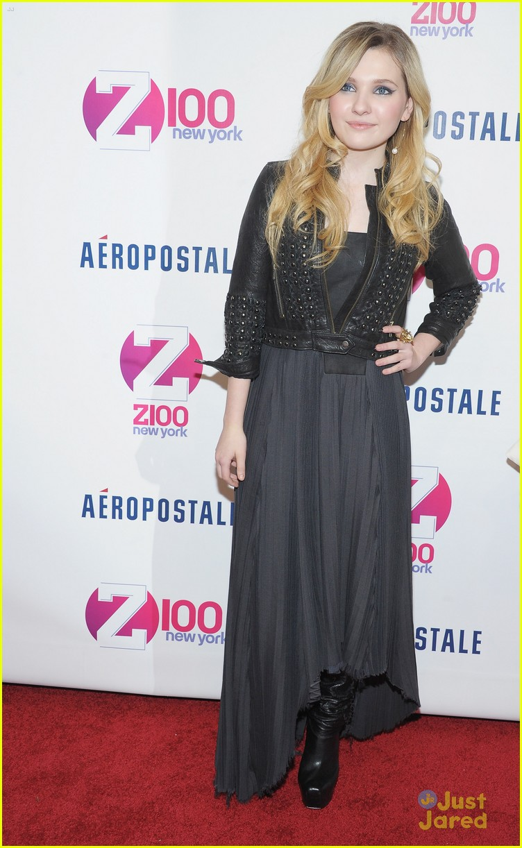 abigail breslin z100 jingle ball 06