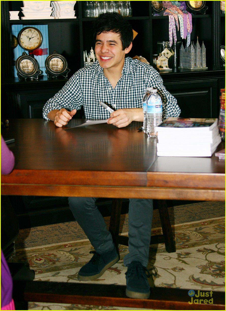 david archuleta book signing 06