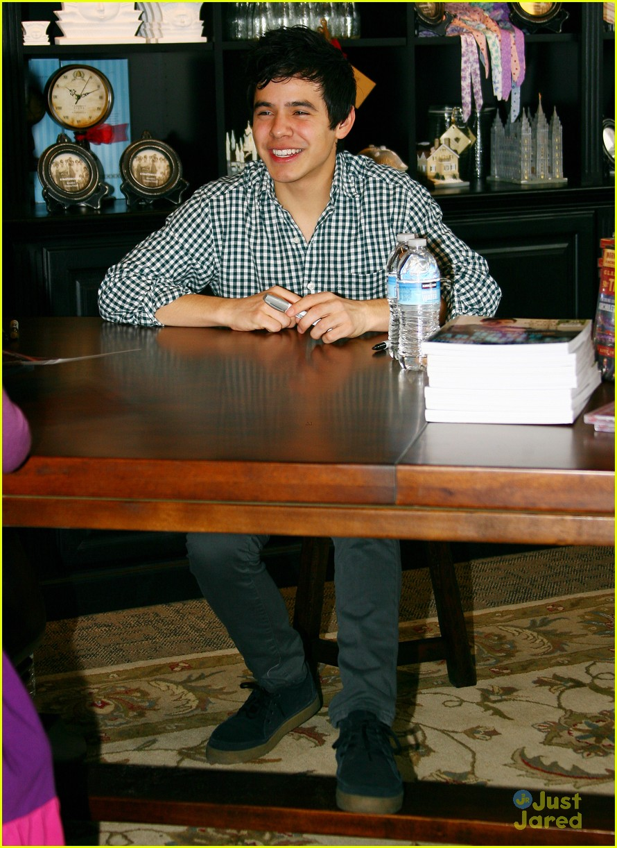 david archuleta book signing 07