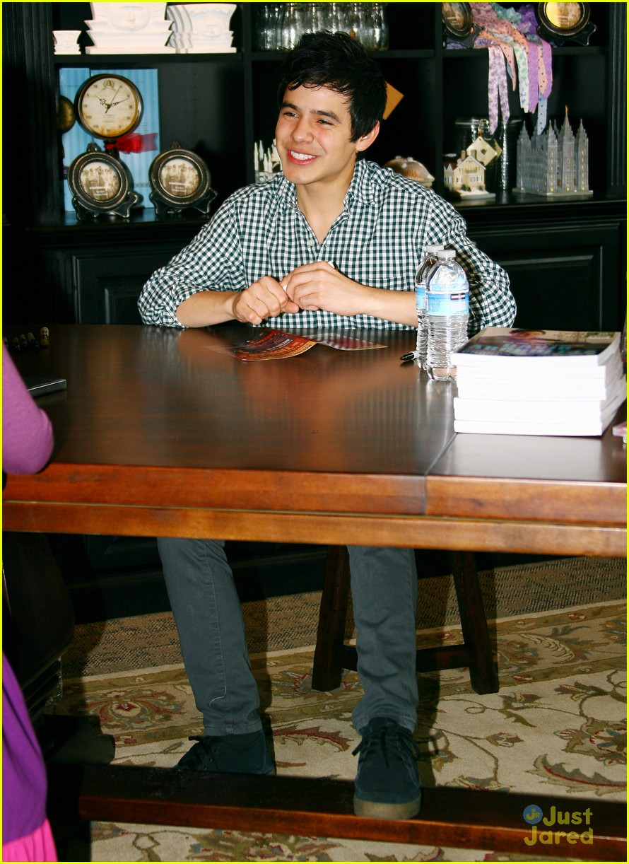 david archuleta book signing 09